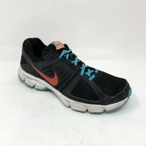 Nike Women's Downshifter 5 Running Shoes 537571-012 Size 9 Black Turquoise Air - $24.18