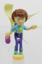 2001 Vintage Polly Pocket Doll Blossom Boutique - Fairy Lila Mattel Toys - $6.00