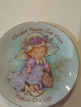 Vintage 1981 Cherished Moments Mothets Day Plate - $2.90