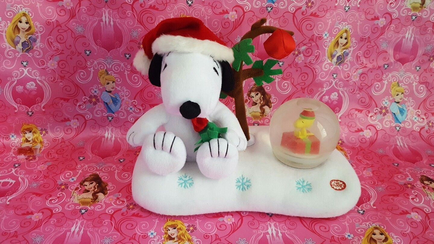 Peanuts Snoopy Musical christmas Woodstock and similar items. S l1600