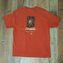 Harley-Davidson Men's T-Shirt Daytona Bike Week 2008 Orange Size XL DP2 - $13.85