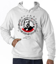 Alexander Borodin - New Cotton White Hoodie - $39.55