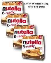 Nutella B-Ready 24 X 22G Crispy Specialty Filled with Hazelnut Spread with Cocoa - $11.99
