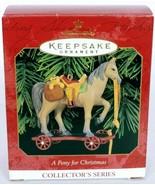 Hallmark Keepsake Christmas Ornament A Pony For Christmas Series 2 - $11.04