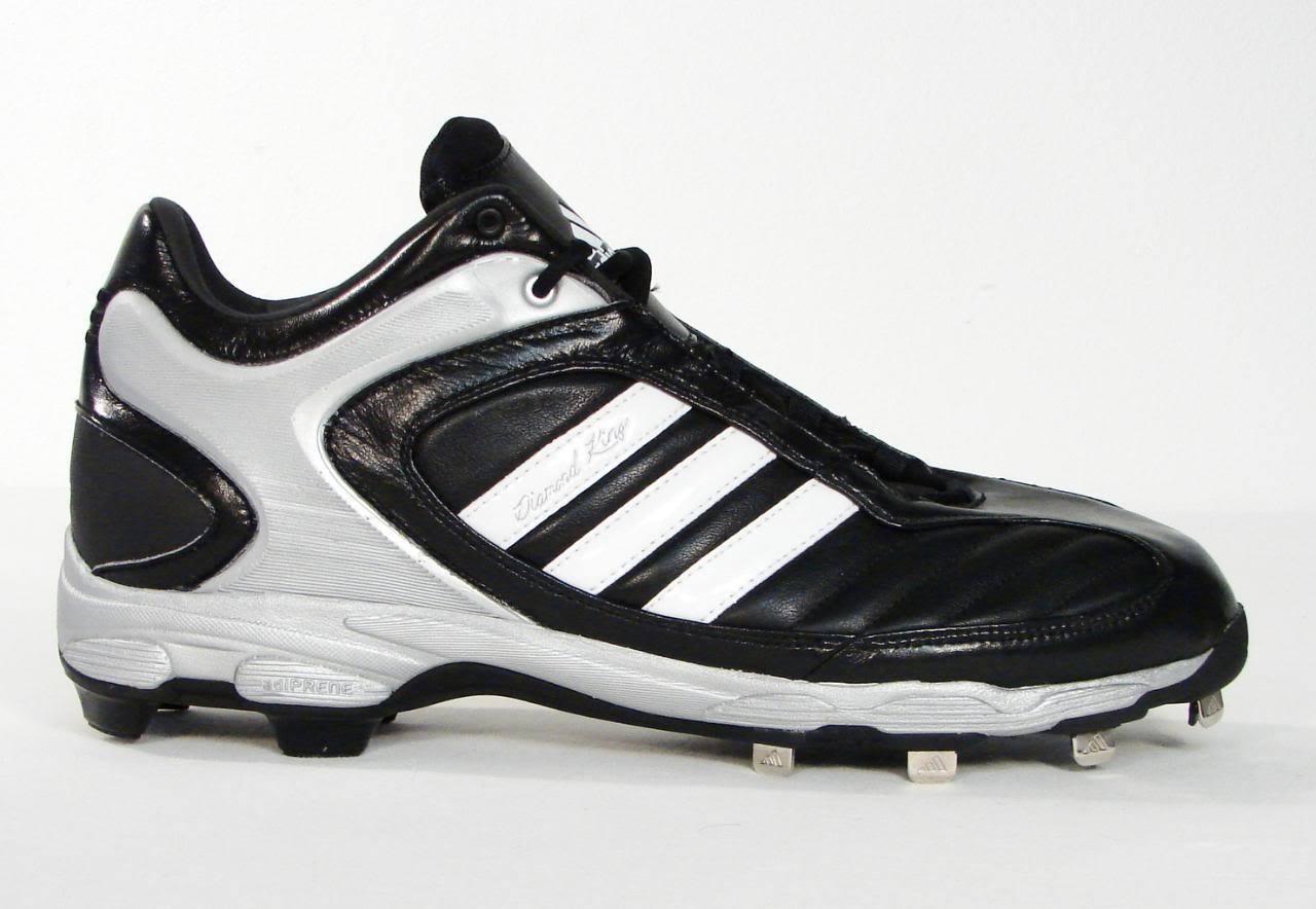 5757a7deac9304 S l1600. S l1600. Adidas Diamond King RH Mid Baseball Cleats Softball Mens  Black NEW. Free Shipping