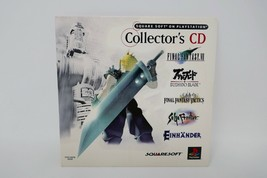 Square Soft on PlayStation Collector's CD Demo/Video Disc (Playstation 1, 1997) - $18.69