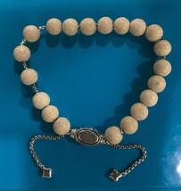David Yurman Bracelet Sterling Silver 8mmRiver Stone Spiritua Beads - $174.99