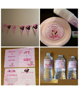Minnie Mouse baby shower supplies set of 48 - $108.89