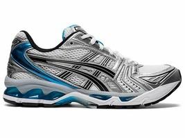 Asics Women's GEL-KAYANO 14 Shoe NEW AUTHENTIC White/Aizuri Blue 1202A05... - $129.99