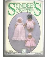 """Syndee's 1994 12"""" Baby Doll Pattern #24020 - Uncut - $12.00"""