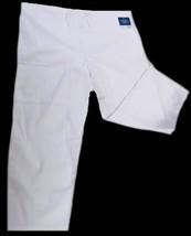 White Scrub Pants Drawstring Waist Uniform Bottom 3XL Adar 504 Unisex New - $19.37