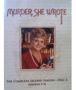 Murder, She Wrote: The Complete Second Season, Disc 2, Episodes 9-16 [DV... - $59.95