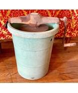 Vintage Peerless  fiberglass Hostess Ice Cream Freezer Maker  Hand Crank... - $39.99