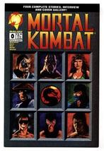 Mortal Kombat #0 1994- Malibu comic book NM- - $22.70
