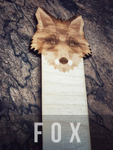 Engraved Fox Bookmark - $10.00