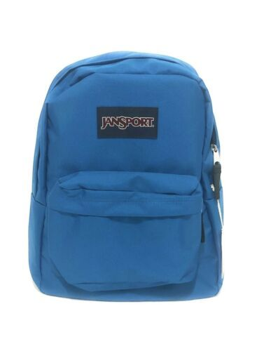 Primary image for JanSport SuperBreak Mykonos Blue School Backpack