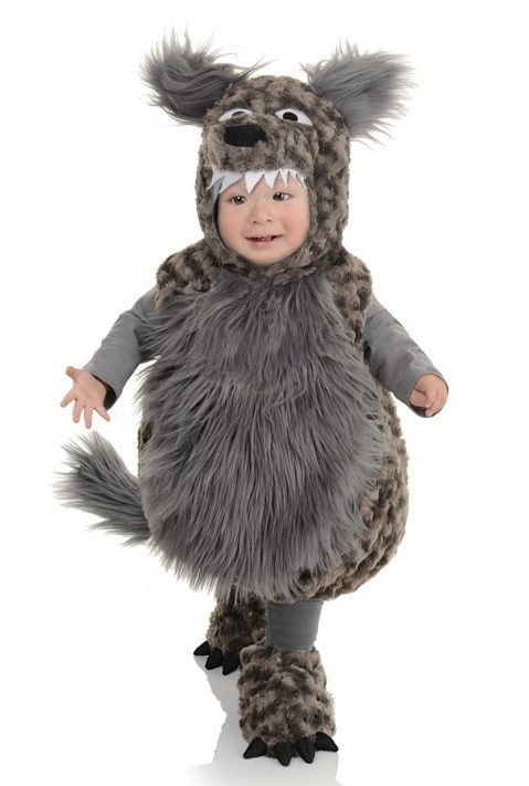 Underwraps Wolf Belly Babies Child Infant Toddler Halloween Costume 26107