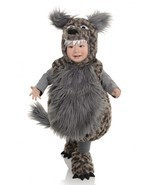 Underwraps Wolf Belly Babies Child Infant Toddler Halloween Costume 26107 - $606,34 MXN+