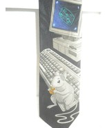 MOUSE ON KEYBOARD Novelty  Tie Addiction Brand  classic   - $21.02