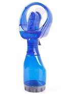 Portable Hand held Cooling Cool Water Spray Misting Fan Mist Travel Beac... - £9.23 GBP