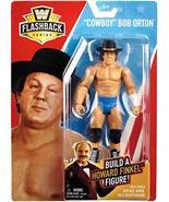 WWE Basic Flashback Series Cowboy Bob Orton Action Figure (Build Howard ... - £11.15 GBP