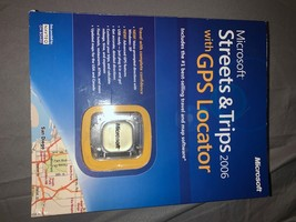 Microsoft Streets and Trips 2006 With GPS Locator (ZV3-00002) - $19.64