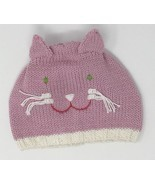 Blabla Kids Girls Knitted Pink Cat Hat Size Medium 6-12 Months NEW - £13.03 GBP
