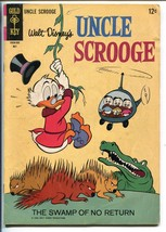 UNCLE SCROOGE #57 1965-GOLD KEY-WALT DISNEY-CARL BARKS ART-vg - $52.96