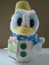 Tokyo Disney Resort Christmas 2012 Snow snow Donald Snowman Plush doll  - $54.45