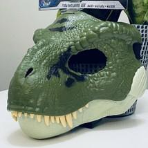 Jurassic World Tyrannosaurus Rex Dino Rivals GreenMask Movable Jaw 2020 ... - $29.60