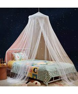 Canopy Bed Curtains with Fluorescent Stars Glow for Girls Kids,Bed Canop... - $48.40+