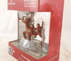 Hallmark Ornament Red Box Rudolph the Rednosed Reindeer NIB New  - $18.90