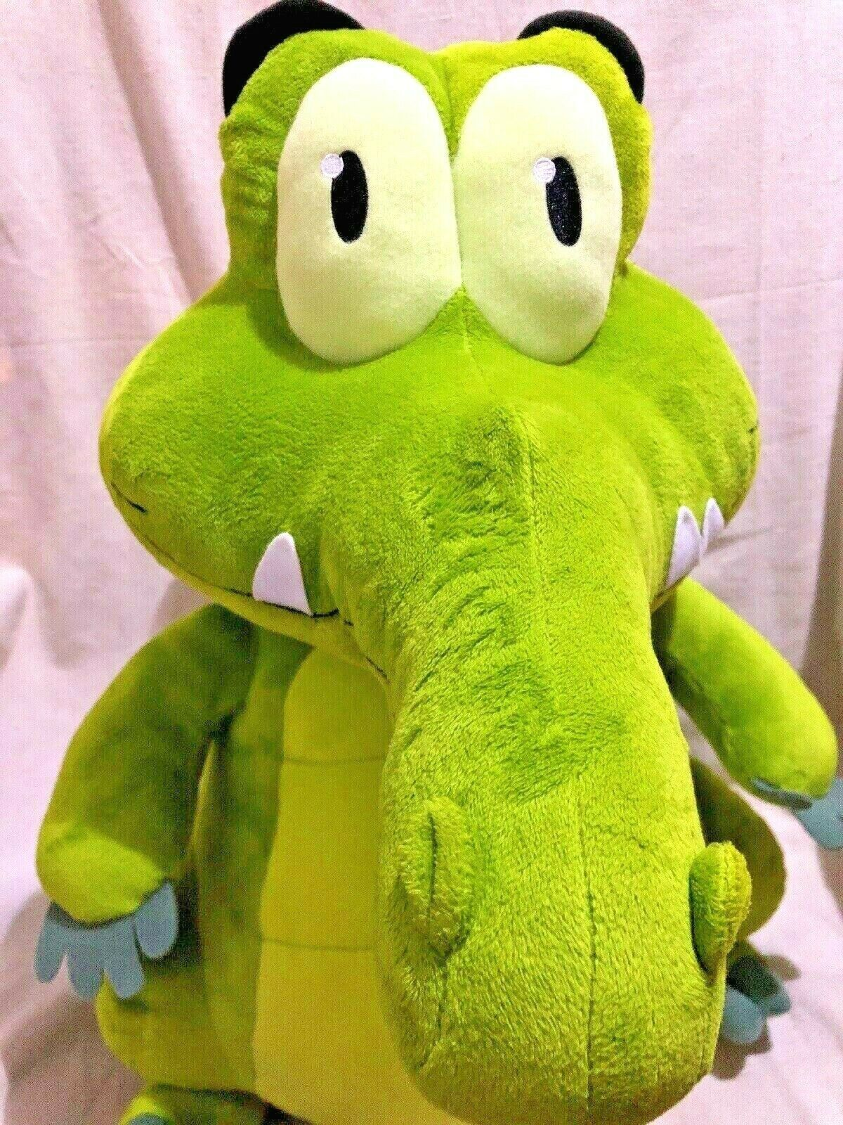 "Disney WHERES MY WATER Swampy 22"" LARGE Plush Doll Jakks 2012 image 2"