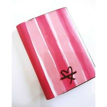 Victoria's Secret Passport Holder in Signature Pink & White Stripe New w... - $9.85