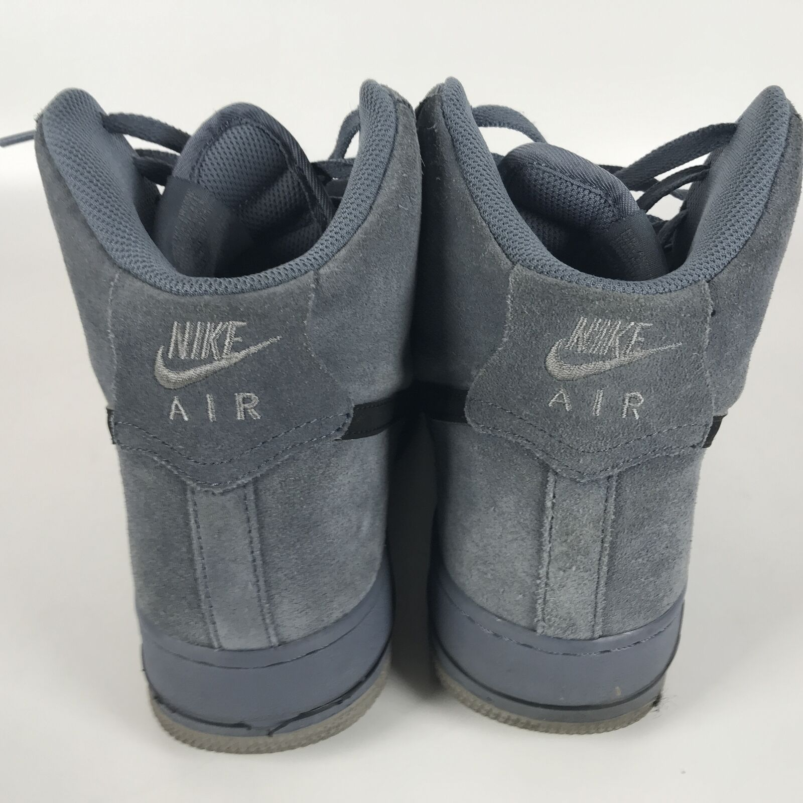 Nike Air Force 1 High '07 Basketball Mens Shoes 10 Blue Black 315121 415 image 4