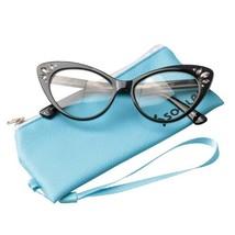 Reading Glasses Cat Eye Spectacles Women Sights Lens Prescription Read - $18.79