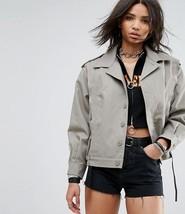 Vintage Unissued French Army blouson ike grey coat army blazer uniform j... - $20.00