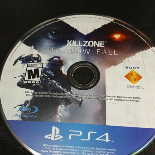 KILLZONE Shadow Fall for Playstation 4 PS4 Free Shipping