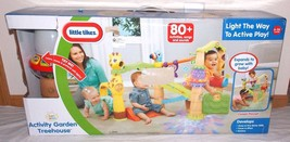 Little Tikes Activity Garden Treehouse 80+ Activities Songs Sounds 6-36 ... - $59.99