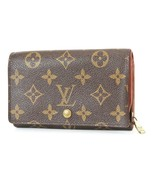 Authentic LOUIS VUITTON Monogram Long Wallet Zippered Coin Purse #2798 - $188.10