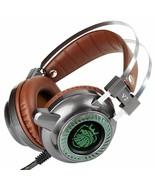 Stereo Earphone Microphone Gaming Headset LED Light Hi-Fi Headphones Com... - $31.67
