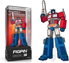 """BRAND NEW Pin Transformers Optimus Prime FiGPiN  3"""" tall 3/32"""" thick (2.... - $30.00"""