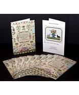 Sampler Card: Hannah Coates 1848 cross stitch H... - $2.20