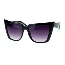 Womens Super Oversized Square Cateye Sunglasses Fierce Runway Fashion - $7.97+