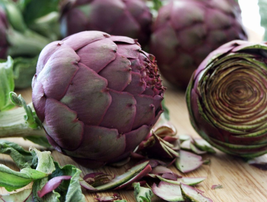 4 pcs Artichoke Purple Violet De Provence Vegetable Seeds Delicious - $14.84