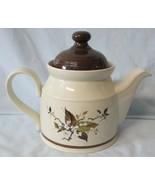 Royal Doulton Lambethware Wild Cherry LS1038 Tea Pot 5 Cup Size - $45.43