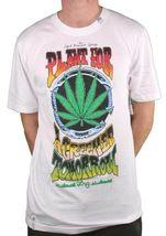 LRG Gray or White Plant For A Greener Tomorrow Weed Marijuana T-Shirt Medium NWT image 4