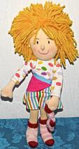 "Madame Alexander Little Miss Matched plush cloth doll 12"" 2006 SOCK YARN LOVEY - $10.62"