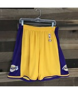 VINTAGE CHAMPION LOS ANGELES LAKERS SHORTS IN SIZE 40-42 Streetwear Bask... - $46.75