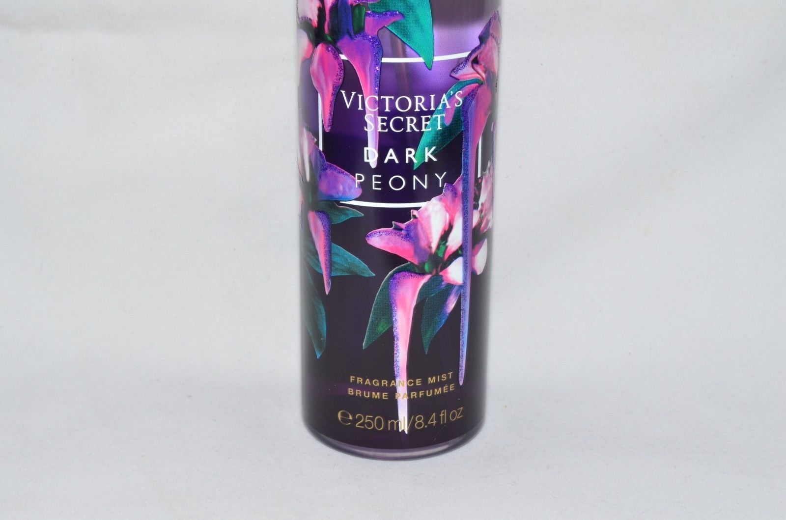 VICTORIA'S SECRET Midnight Blooms Dark Peony Fragrance Body Mist 8.4Oz NEW